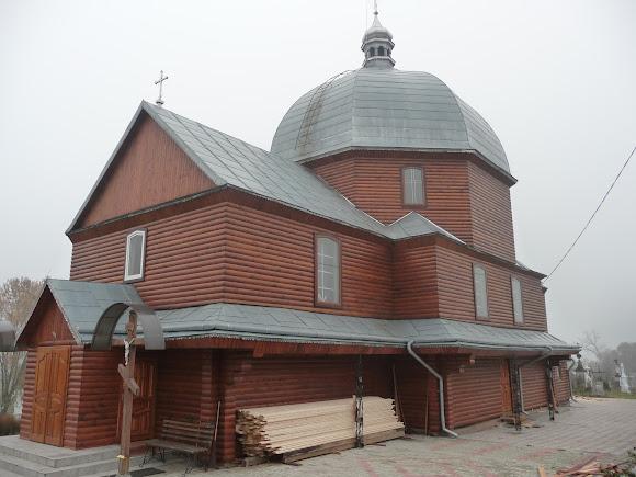 Верхній Дорожів. Храм Святого Іоанна Хрестителя
