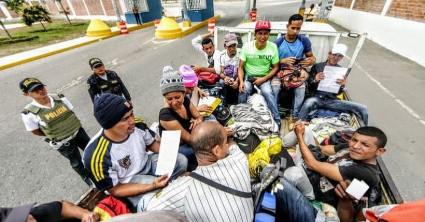 Aumenta el ingreso de venezolanos por Tumbes a más de 1200 al día, luego de la suspensión de la exigencia del pasaporte