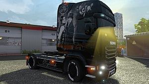 Nightwish Scania Streamline skin 2
