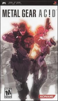 Metal Gear Acid (PSP) (ISO - Español) (MEGA)