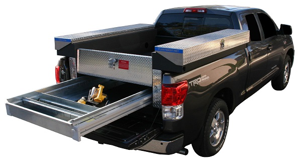 Load'N'Go Sportsman, Fleetwest Transferable Truck Bodies, pickup work truck, tool box