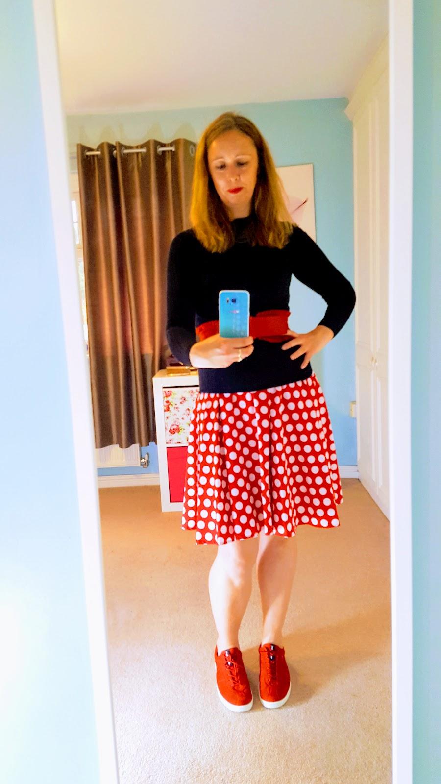 Summer Dress Layered For Autumn