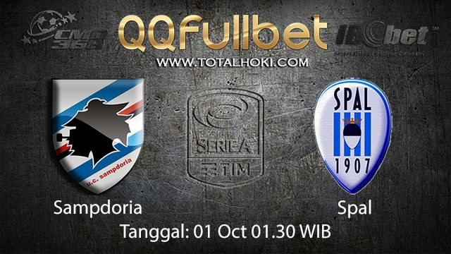 Prediksi Bola Jitu Sampdoria vs Spal 02 October 2018 ( Italian Serie A )