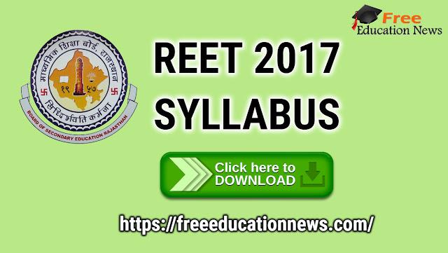 REET 3rd Grate Syllabus