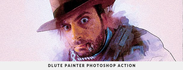 Painting 2 Photoshop Action Bundle - 68