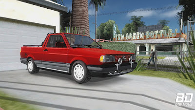 Mod, Carro ,  Vw Saveiro para GTA San Andreas, GTA SA