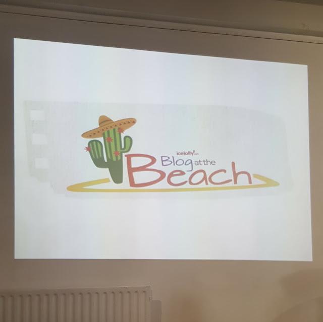 blog at the beach presentation