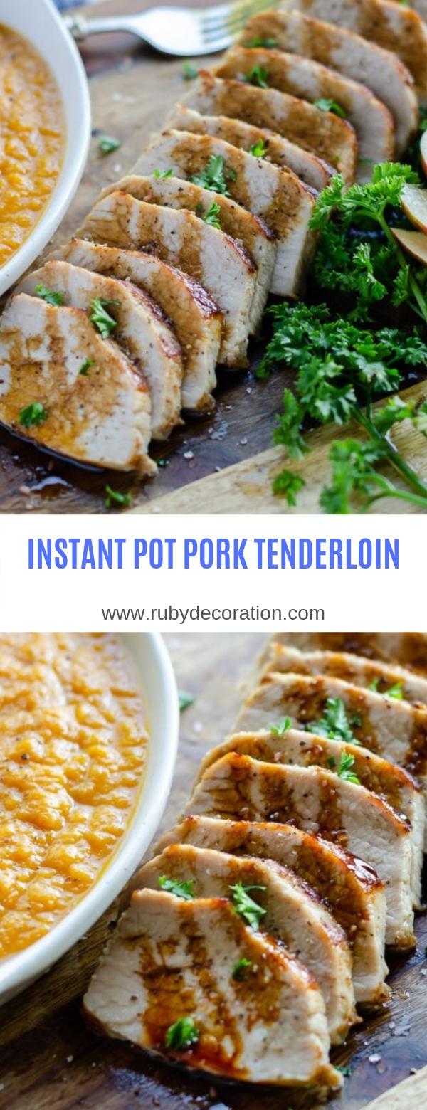INSTANT POT PORK TENDERLOIN #Instant Pot#Pork#Main Course