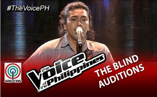 Video: Rence Rapanot sings 'Mateo Singko' on The Voice of the Philippines Season 2 Blind Audition