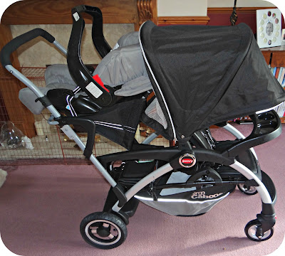 Life Unexpected The Joovy Ergo Caboose Review