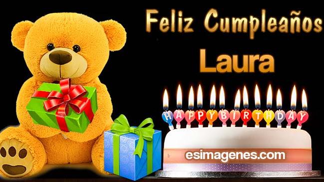 Feliz cumpleaños Laura
