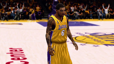 NBA 2K13 Earl Clark Accurate Face Patch
