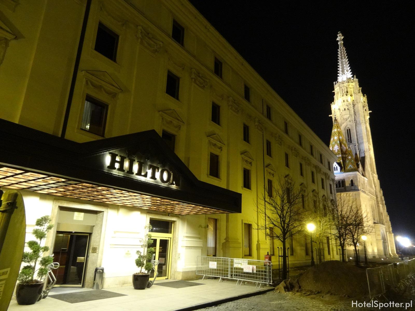 Hilton Budapest hotel recenzja review noca