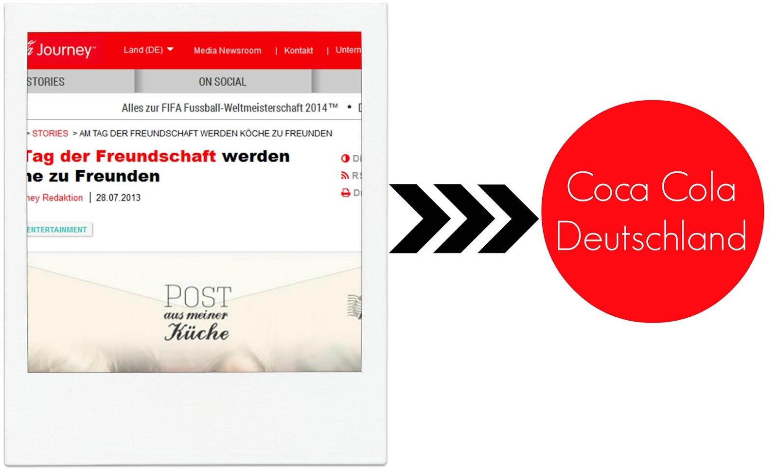 Coca Cola Deutschland, PAMK, Post aus meiner Küche, Blogger, Frollein Pfau, Backen, Cola