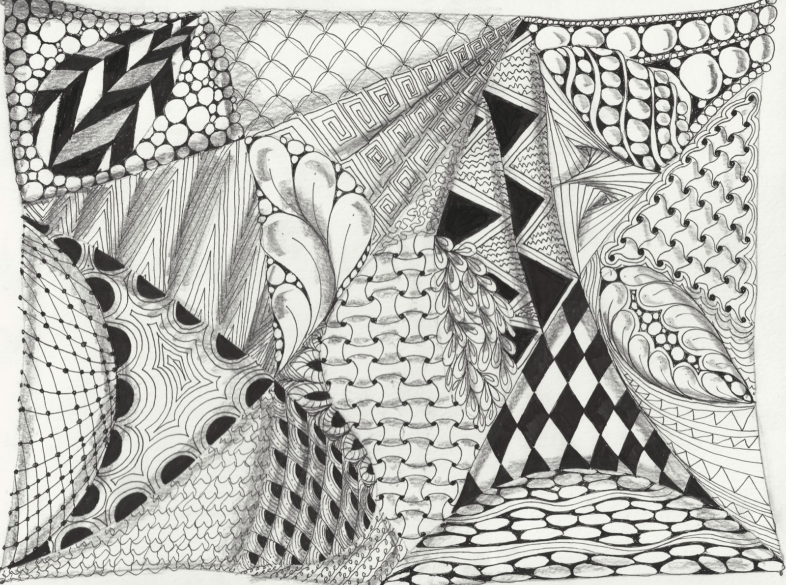 How To Draw Cool And Easy Patterns | Joy Studio Design ...