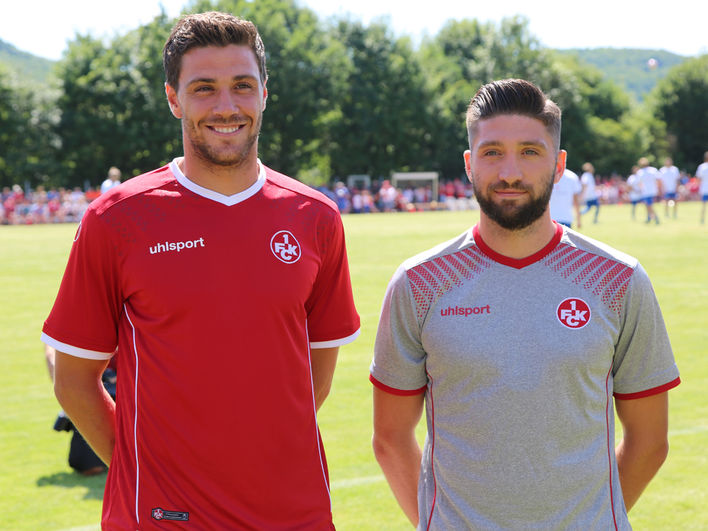 3ee8ea86c41 Kaiserslautern 17-18 Home   Away Kits Revealed - Footy Headlines