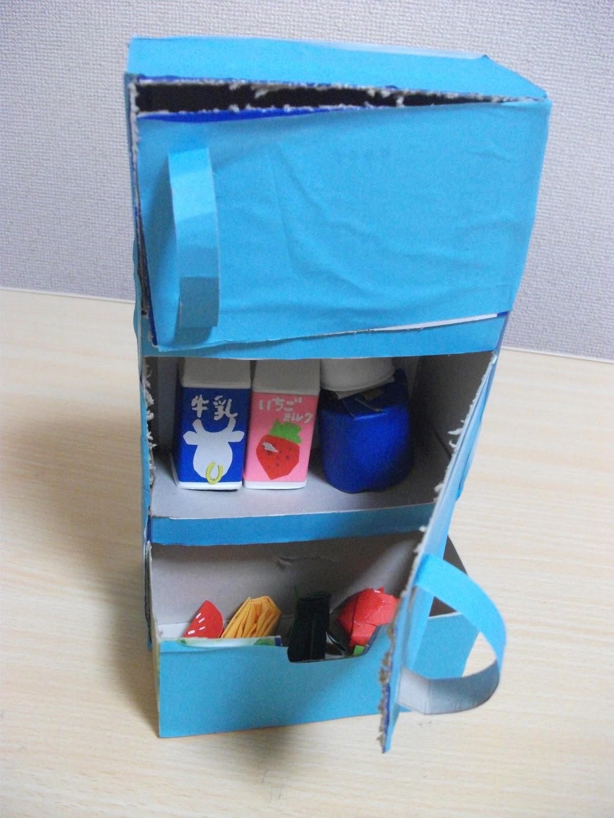 Refrigerator Tissue Box Craft | Preschool Crafts for Kids - photo#46