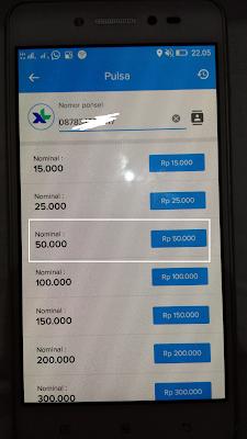cara menukarkan pulsa gratis dari aplikasi kredivo