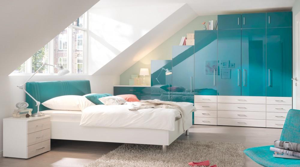 Wandgestaltung Jugendzimmer Dachschräge - Schöne Küche Design