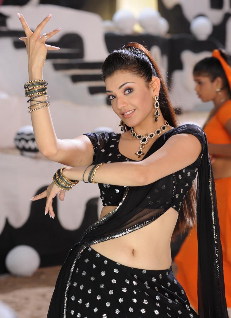 Kajal Agarwal Beautiful Saree Photos