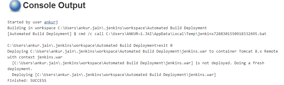 Automated Deployment on Tomcat Server Using Jenkins - QA