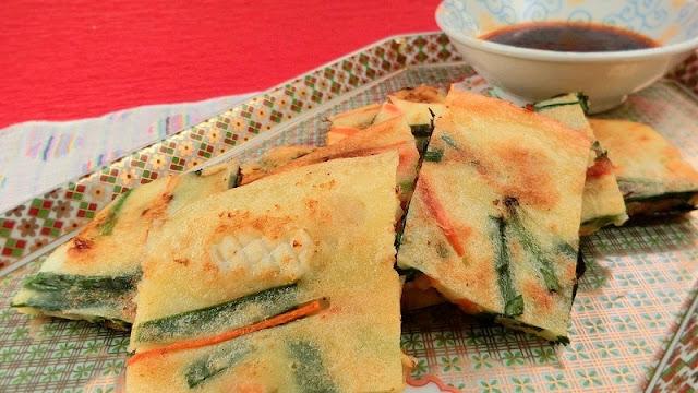 チヂミは副菜献立じゃない!本格仕上げの海鮮チヂミレシピ・作り方