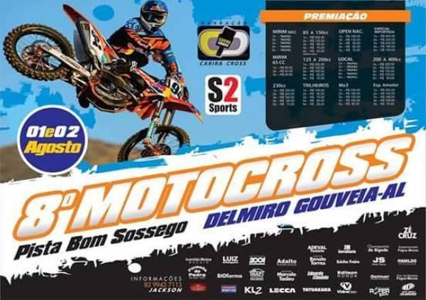 Dias 1 e  2 de agosto Delmiro Gouveia (AL) realiza seu 8º Festival de Motocross
