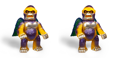 Designer Con 2018 Exclusive Violent Violet Wing Kong Vinyl Figure by Super7