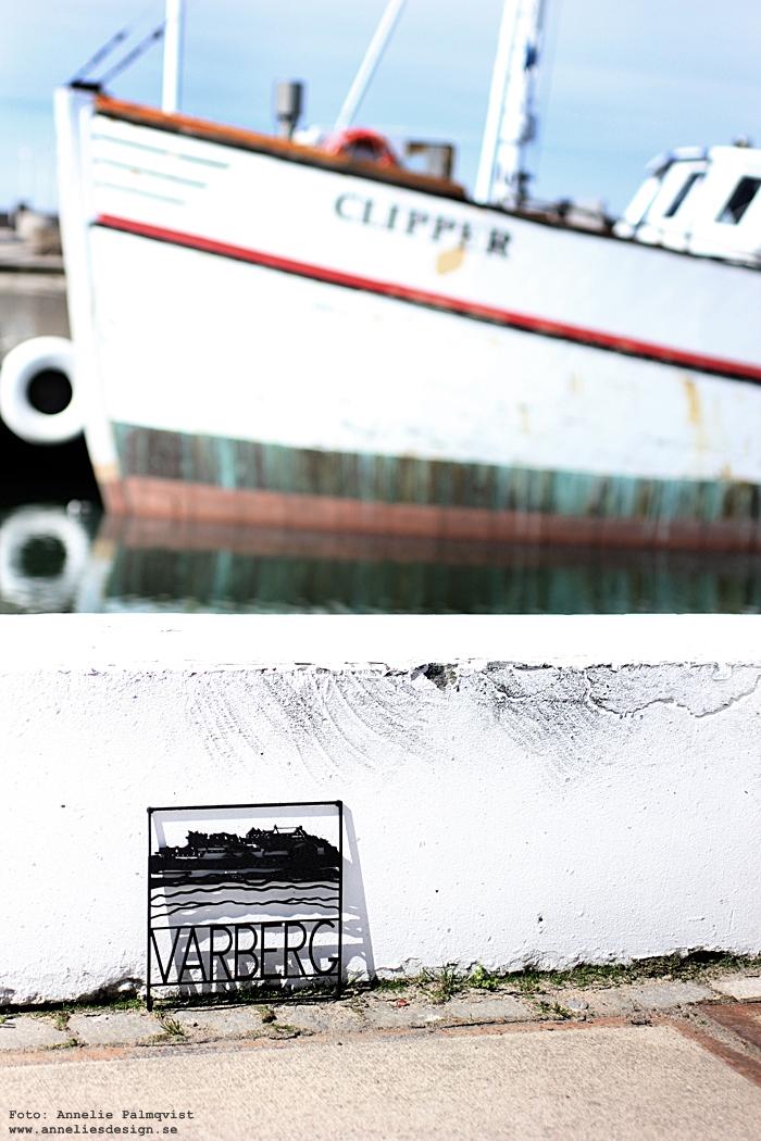 annelies design, webbutik, clipper, varberg, hamn, hamnen, båt, båtar, underlägg, grytunderlägg, city trivet, inredning, fotografering,