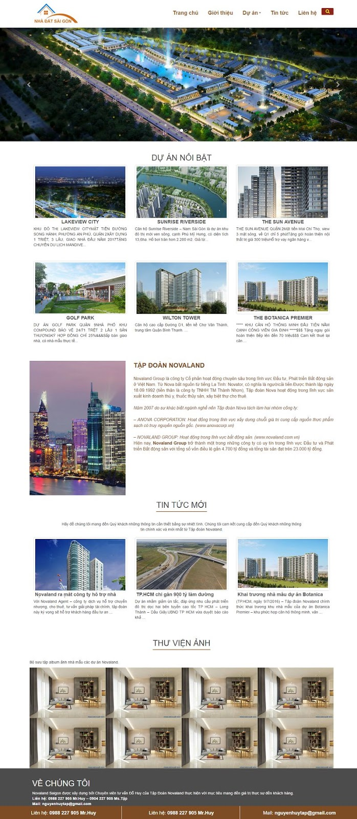 Demo Template blogspot bất động sản nhà đất 00044
