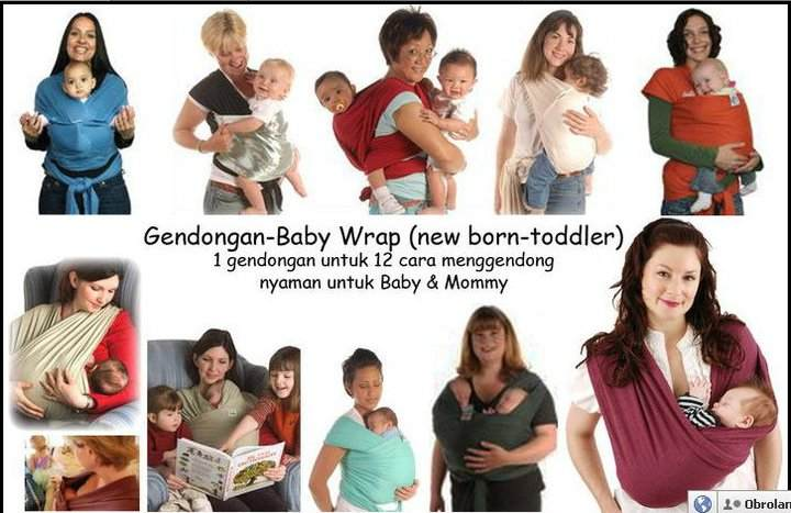 Babywrap Ginzmom Yasmin Baby Shop