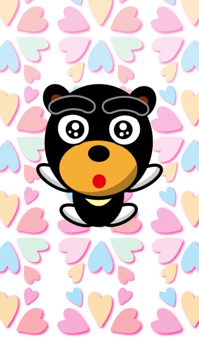 Black Eyebrows Bear 8.1