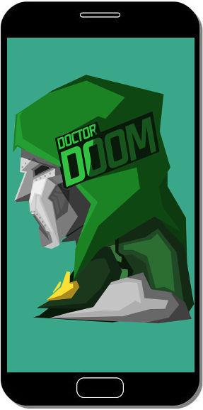 Doctor Doom Comics - Fond d'Écran en QHD pour Mobile