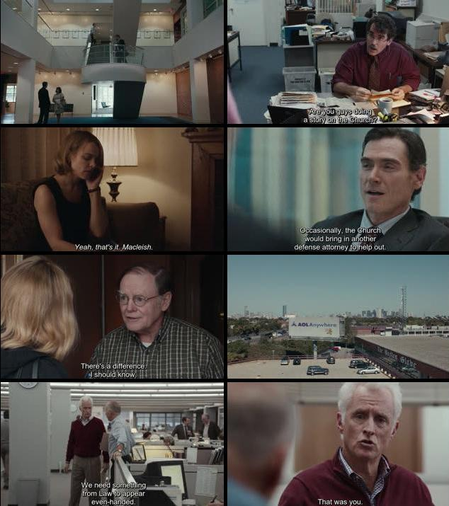 Spotlight 2015 English 480p BRRip 350MB ESubs