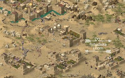 تحميل أخر إصدار من لعبة صلاح الدين للكمبيوتر Stronghold Crusader كاملة نسخة اصلية برابط مباشر for PC