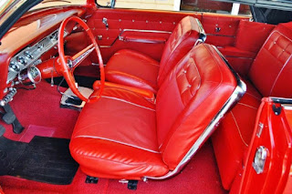1962 Chevrolet Impala SS Convertible Seat Front
