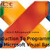 Introduction To Programming Using Microsoft Visual Basic – Tutorial 2.