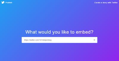 how to create twitter widget blogspot
