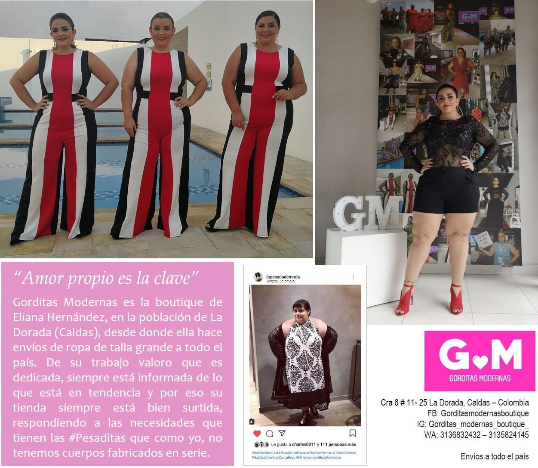 b6d505fce4 Montaje  La Pesada de Moda Gorditas Modernas Boutique. Eliana se encarga  siempre