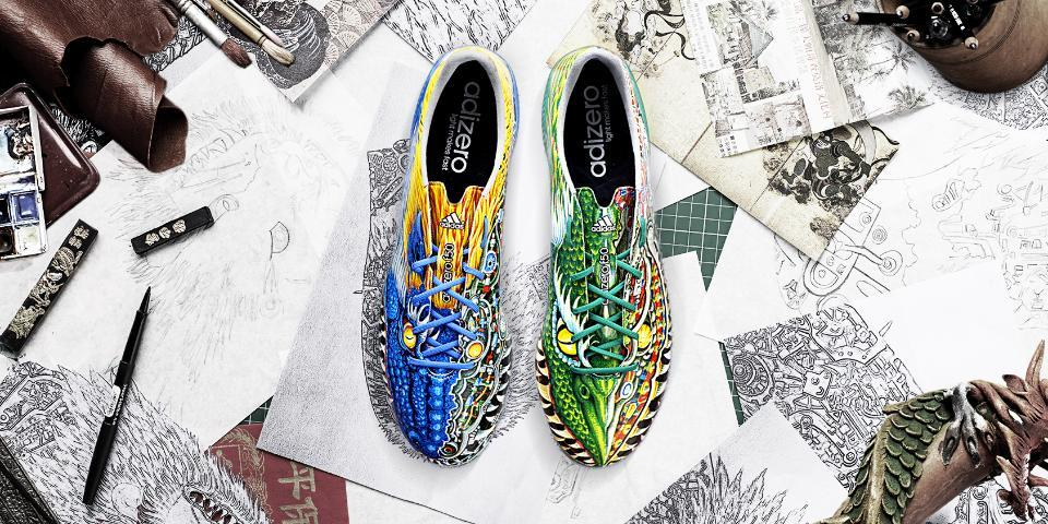 quality design 837a8 53611 New Adidas Adizero F50 Yamamoto 14-15 Boot Released   Have a Fun Flag Wig !