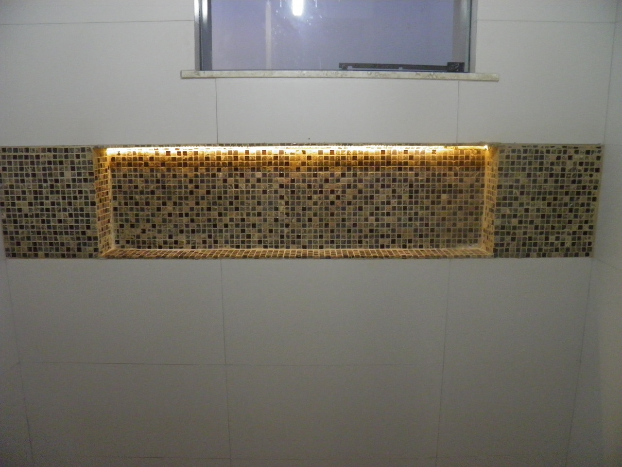 Construindo um Castelinho -> Nicho Para Banheiro Pronto