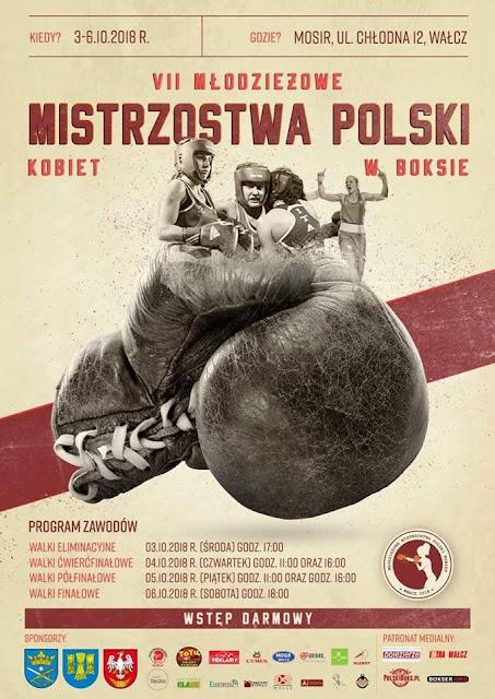 VII Młodzieżowe Mistrzostwa Kobiet w Boksie, Wałcz 2018 r.