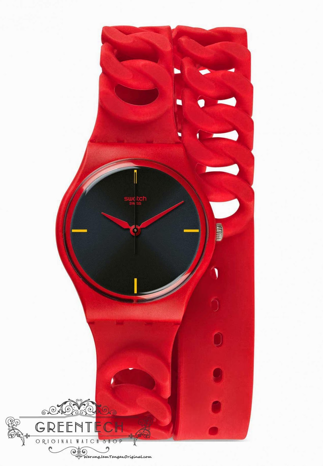 Swatch CRANBERRY LINK GR164