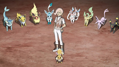 Pokémon Sol y Luna Ultra Aventuras Capitulo 22 Temporada 21 Atrayendo miradas y entrenando duro