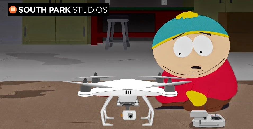 I droni diventano protagonisti nei cartoni animati in un