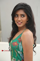 Actress Eesha Latest Pos in Green Floral Jumpsuit at Darshakudu Movie Teaser Launch .COM 0096.JPG