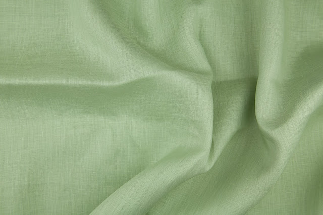 Spring Green Handkerchief Linen Fabric