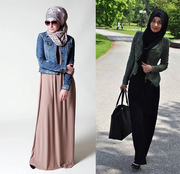 Jaket Muslimah Baju Kurung Baju Kurung Piping Baju