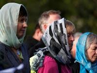 Dukung Muslim, Kaum Perempuan di Selandia Baru Kenakan Hijab