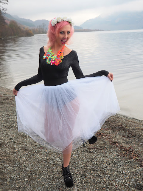 Tocha's World, Tulle Skirt, Black Milk, Y.R.U., soutache